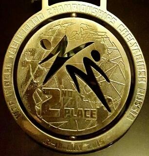 World Taekwondo Championships 2015・silver medal