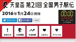 『天皇杯第21回全国都道府県対抗駅伝競技大会』